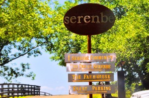 Entrance to Serenbe Community